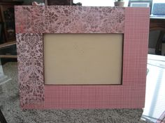 My picture frames I am making