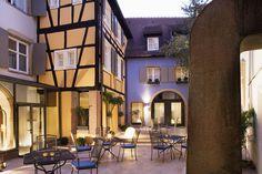 Le Colombier Colmar / central courtyard