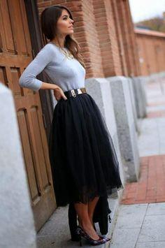 Las faldas de tul - Paperblog