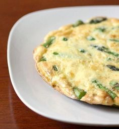 Need a breakfast for two? This tasty asparagus frittata is the perfect recipe. Packed full of fresh chopped asparagus, Parmesan cheese and sharp cheese. VIA Nutmeg Nanny Paleo Breakfast, Breakfast Recipes, Breakfast Frittata, Breakfast Ideas, Second Breakfast, Perfect Breakfast, Free Breakfast, Breakfast Dishes, Starch Free Recipe