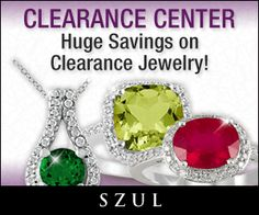 SZUL Clearance Jewelry – Save up to 80% on Huge Collection of Diamond and Gemstone Jewelry – New Items Every Week! THE SMART BUDGET…