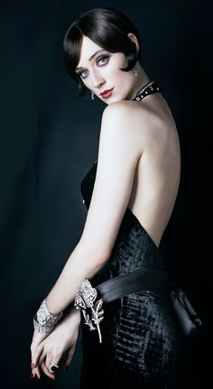 Elizabeth Debicki, as the glamorous Jordan Baker - 2013 - The Great Gatsby - Warner Brothers - Costumes by Catherine Martin