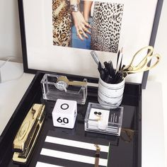 The chicest desk award goes to @Megan Maxwell Biram