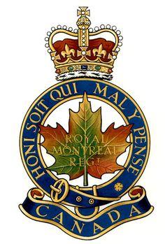 Insigne de The Royal Montreal Regiment