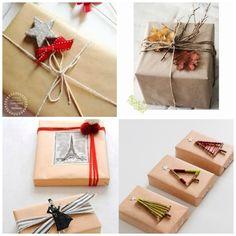 Inspiración para envolver los regalos de Navidad - My Little Party