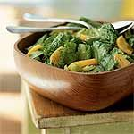 Persimmon-Walnut Oil Salad Recipe | MyRecipes.com