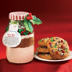 From our Celebrate! winter issue: Print the label for our Santa's Magic Cookie Mix
