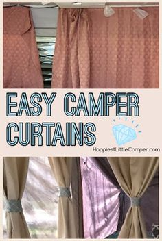 A Quick Way To Spruce Up Your Pop Up Camper!