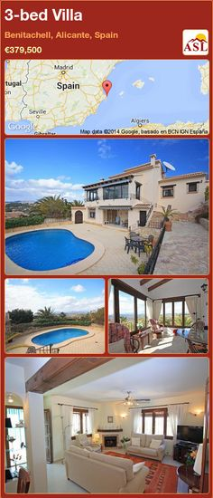 Villa for Sale in Benitachell, Alicante, Spain with 3 bedrooms - A Spanish Life Pergola Plans, Pergola Kits, Arch Gate, Side Gates, Pine Doors, Moraira, Retractable Awning, Dry Stone, Shade Trees