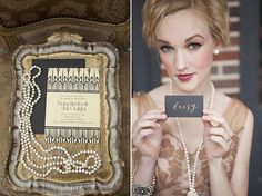 Romantic 1920s Wedding Inspiration  - Makeup for @Mary Forrest's wedding wedding.
