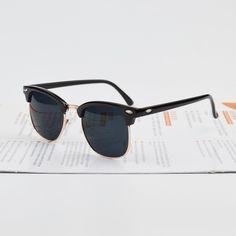 36d0ff36685ee High Quality Half Metal Sunglasses Men Women Brand Designer Glasses Mirror  Sun Glasses Fashion Gafas Oculos De Sol Classic Like and share this pure ...