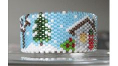 Country Christmas Tea Light Cover, Sova Enterprises