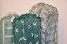 Cactus en tissus chemises recyclées