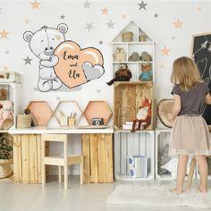 Boy Toddler Bedroom, Girls Bedroom, Kids Room Organization, Little Girl Rooms, Kid Spaces, Kid Beds, Kids And Parenting, Baby Room, Decoration