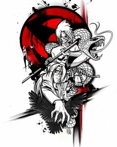 Naruto Tattoo, Manga Tattoo, Tattoo Drawings, Tattoo Art, Anime Naruto, Naruto Art, Otaku Anime, Anime Manga, Sasuke Und Itachi