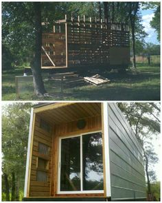#House, #PalletHut, #PalletWall, #RecycledPallet
