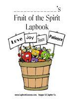 Fruit of the Spirit lapbook