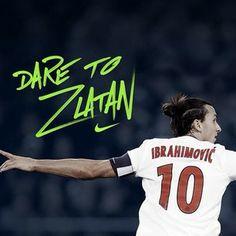 Dare to Zlatan Nike Football, Football Players, Ibrahimovic Wallpapers, Dares, Tatoos, Soccer, Sports, Afrikaans, Shiva