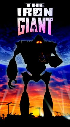 Since I was little, I always loved the way they did the animation in The Iron Giant.