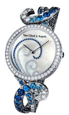 Van Cleef & Arpels Atlantide high jewelry watches, the temptation of the blue ocean