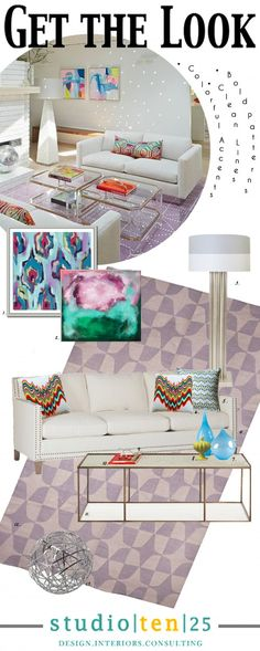 Lavender Living - Get The Look