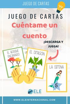 Juego cartas clase de ELE Preschool Education, Primary Education, Teaching Kids, Spanish Teaching Resources, Teacher Resources, Skills To Learn, Learn To Read, Activities For Adults, Study Hard