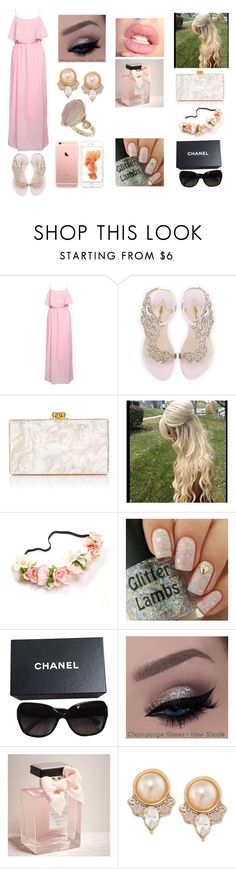 """Untitled #154"" by seerat-chahal ❤ liked on Polyvore featuring Rut&Circle, Sophia Webster, Edie Parker, Chanel, Abercrombie & Fitch, Carolee and Topshop"