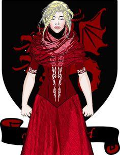 Rhaelle Targaryen was the daughter of Aegon V Targaryen.