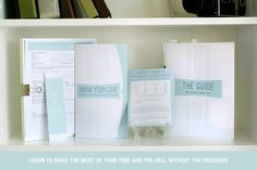 The Essential Pre-Session Consult Kit from Design Aglow