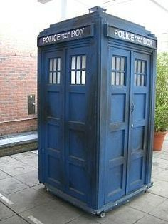 Wouldn't it be fun to hook a camera up to a fake TARDIS, place it in the middle of town and see what people would do!