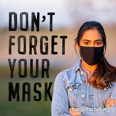 As many families choose to gather this week, it's important to remember to always wear your mask to protect others and yourself.