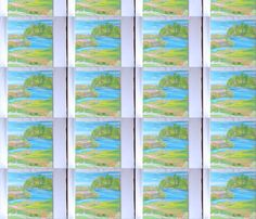 RIVIERE fabric by chrismerry on Spoonflower - custom fabric