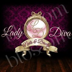 Nail Salon Logo Design Ideas image result for hair and nail salon logos Lady Diva Nails And Beauty Custom Logo Designs