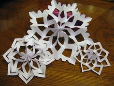 The Quilting Mill: Tutorial: 3-D Snowflakes