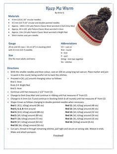 Beanie Knitting Patterns Free, Baby Cardigan Knitting Pattern, Free Knitting, Crochet Patterns, Hat Patterns, Creative Knitting, Knitting For Kids, Knitting Projects, Knit Or Crochet