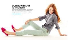 i like this look. AND gap's new site.