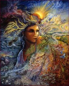 SOPHIA is the central pivot of creation and represents the feminine aspect in all things. She is Wisdom Incarnate, the Goddess of all those who are wise.