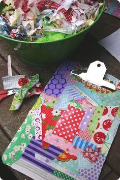 8 More Ideas for Fabric Scraps