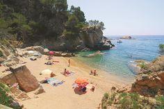 Cala Llevado - Tossa de Mar - Costa Brava, Catalonia.