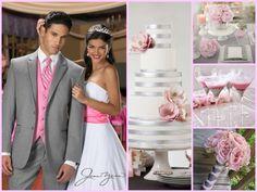 Pink & Gray Wedding Inspiration