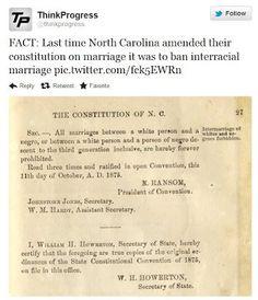 North Carolina civil rights