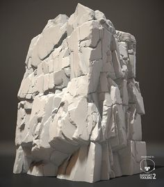 ArtStation - cliff rock, Chae WonHee
