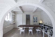 rustic Living room by Architetto Silvia Giacobazzi
