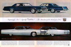 1967 Cadillac Eldorado and Sedan DeVille