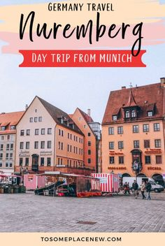 Perfect Munich to Nuremberg Day Trip Itinerary – tosomeplacenew – Best Europe Destinations Top Europe Destinations, Europe Travel Tips, Travel Abroad, Budget Travel, Cities In Germany, Germany Europe, Germany Travel, Trip To Germany, European Destination