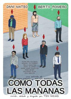 #CARTEL #CROWDFUNDING #COMEDIA - Cartel Póster de Néstor F. para Como todas las…
