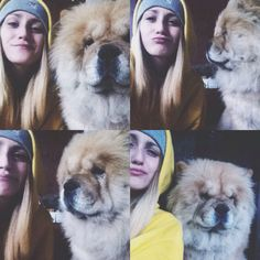 Chow chow and me