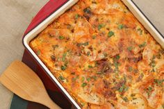 Mexican breakfast casserole