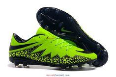 huge discount 90648 2237b Nike Hypervenom Phantom II FG Neon Black