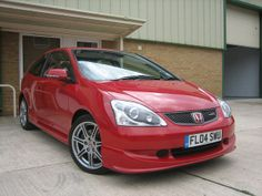 2004 Honda Civic Type-R 2.0i-VTEC Milano Red by Steve Coulter Performance Cars - Buying & Selling All Type-R Models Nationwide m: 07795 560330